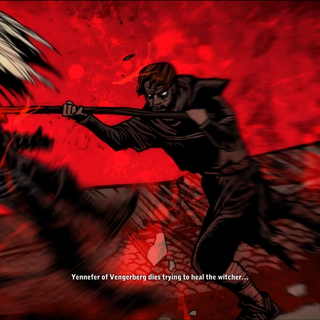 Il villico uccide Geralt