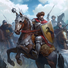 Dun Banner Heavy Cavalry in <i><a href=