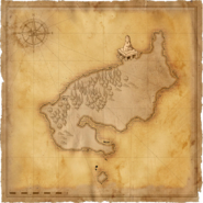 Map Black Tern Island