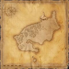 Map of Black Tern Island
