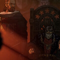 King Villem the First and General Ardal aep Dahy