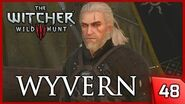 The Witcher 3 Wyvern - Patrol Gone Missing Contract - Story & Gameplay 48 PC