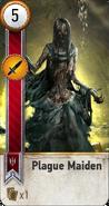 Tw3 gwent card face Plague Maiden