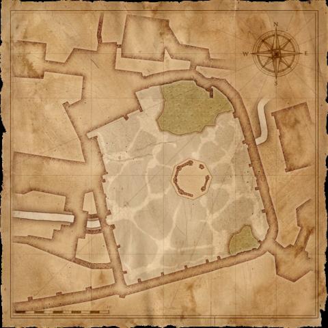 Mappa del Cimitero di Vizima