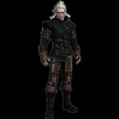 Ґеральт в броні Крука, гра Відьмак 2: Вбивці Королів