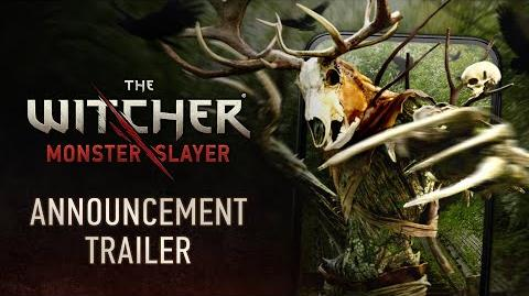 The Witcher Monster Slayer — Announcement Trailer