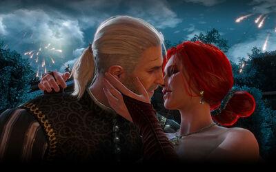 Tw3 Romance Triss and Geralt