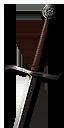 Tw3 witcher steel bear sword lvl1