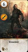 Witcher 3 Vesemir Ballad Heroes Gwent Card