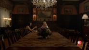 Penelope and Freya Having Dinner