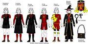 Willow mistt uniforms by comingfullcirce-d4h1s1y