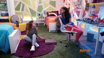 Kim and Andi in dorm 109
