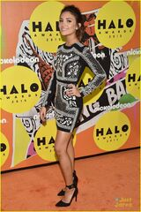 Daniela-Nieves-On-The-Orange-Carpet-At-2015-Nickelodeon-HALO-Awards-At-Pier-36-New-York-Nick