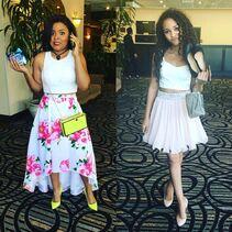 Jazzy & sister Brynn at KCAS-2016