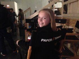 Meg on Set Paper Towns