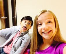 Meg and Timothy