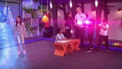 Luke Sean and Gracie holding a portal for Andi to return 116