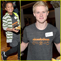 Jailen-bates-and-ryan-cargill-attend-charity-event-with-nick-stars