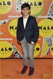 Timothy-Colombos-On-The-Orange-Carpet-At-2015-Nickelodeon-HALO-Awards-At-Pier-36-New-York-Nick-WITs-Academy