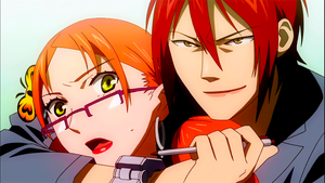 Shimizu Tsukuji threatening Ageha