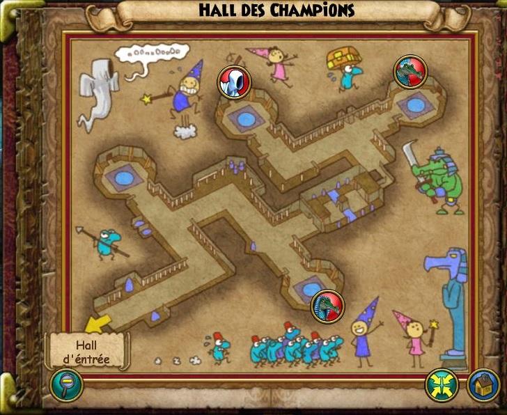 Hall des Champions