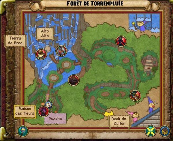 Forêt de Torrenpluie