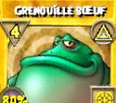 Grenouille bœuf (sort)