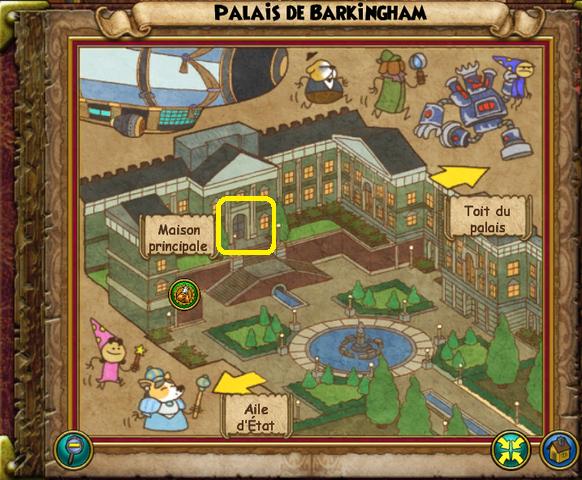 Maison principale carte
