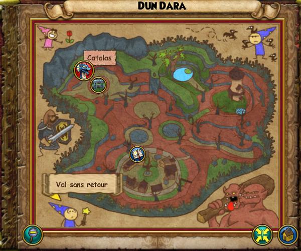 Map dun dara