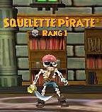 Squelette Pirate Rg1