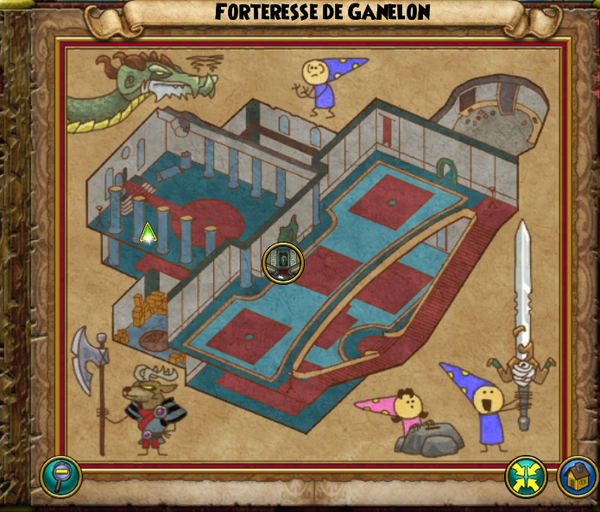 Map forteresse de ganelon