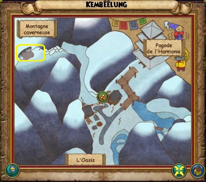 Montagne caverneuse (carte)