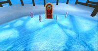 Salle des fêtes de noël polaris
