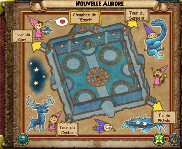 Map nouvelle aurore