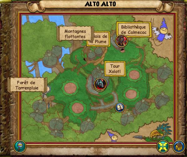 Map alto alto