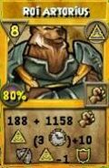 Roi Arthorius mythes colossal