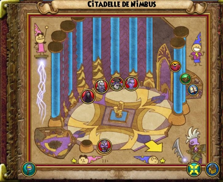 Citadelle de Nimbus carte