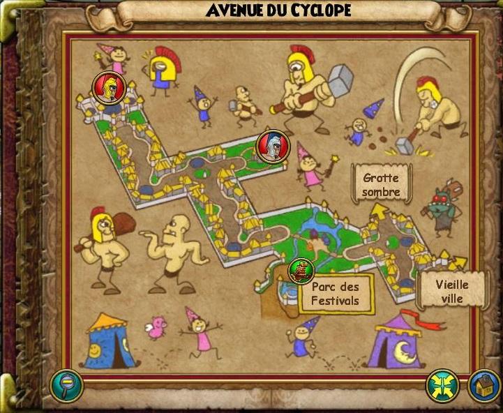 Avenue du cyclope