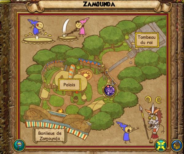 Map zamounda