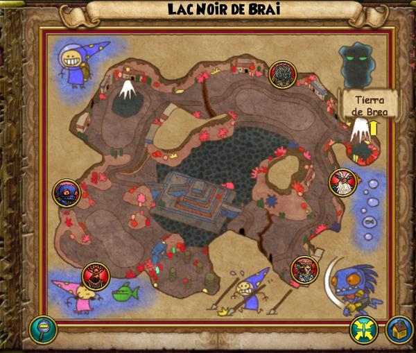 Map lac noir de brai
