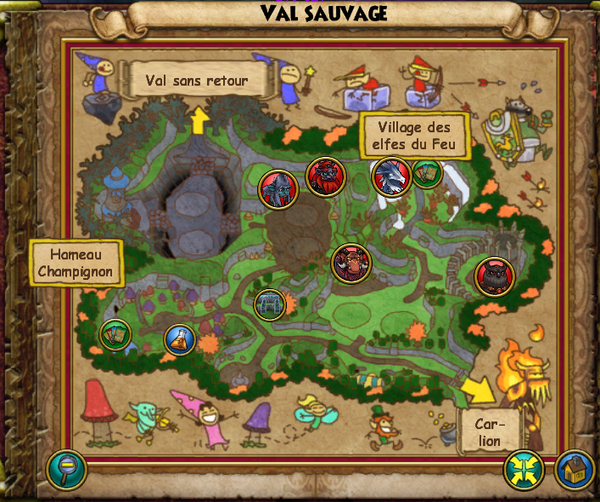 Map val sauvage