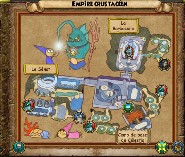 Map empire crustacéen