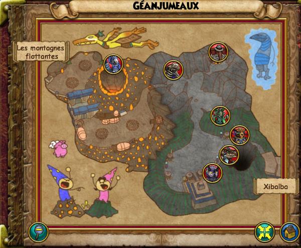 Map géanjumeaux