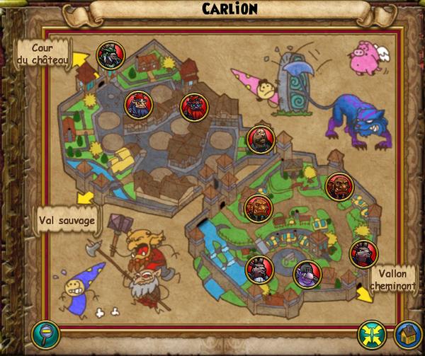 Map carlion