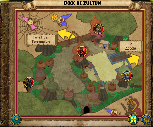 Map dock de zultun