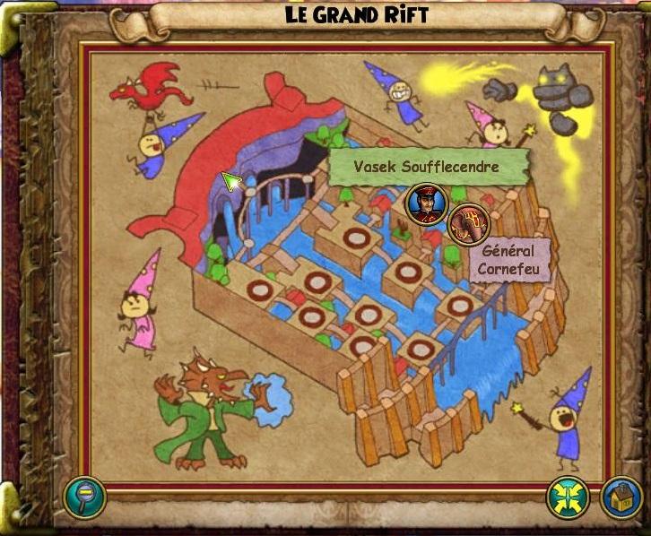 Le Grand Rift passé