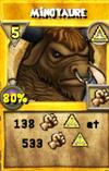 Minotaure (sort) (monstrueux)