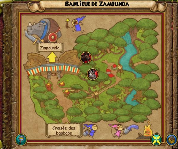 Map banlieue de zamunda