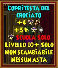 Copritesta del crociato stat