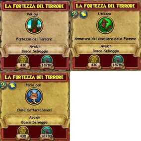 Lafortezterror tag quest